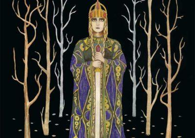 """Kriemhild's Revenge 1"" 2010. 13.5""x18"" by Scott Kimball"