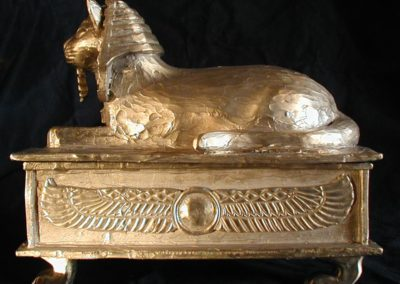 Bronze Sphinx Left