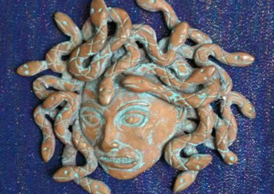Bronze Medusa Blue