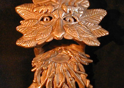 Bronze Green Man New